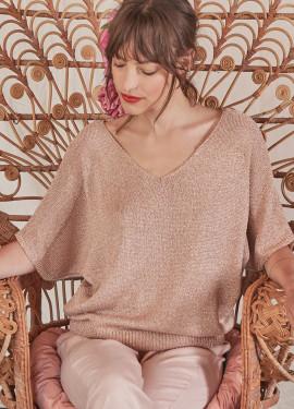 Shiny pullover