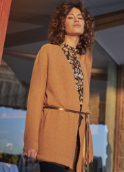 Long soft waistcoat