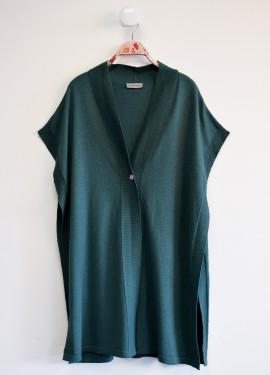 Gilet cape long