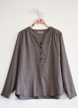 Vichy blouse
