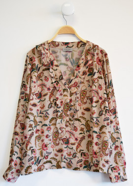 Arabesque blouse