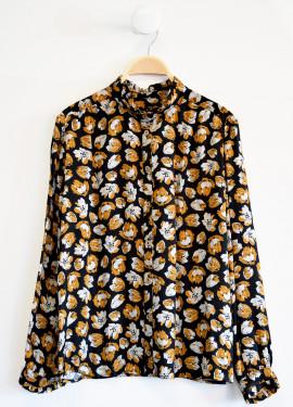 Chemise à motifs fleuris