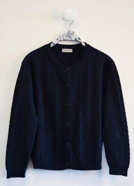 Openworked waistcoat