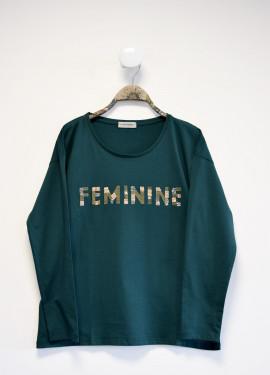 """T-shirt """"feminine"""""""