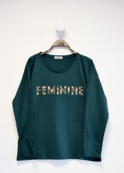 """Tee shirt """"Féminine"""""""
