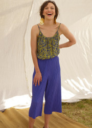 Top tank with bicolor pattern