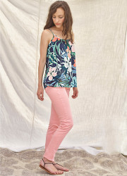 Top tank with Gauguin pattern