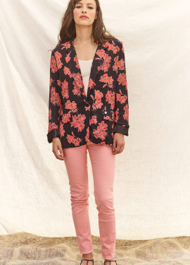 "Blazer jacket with ""flower""..."