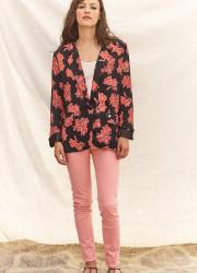 "Blazer jacket with ""flower"" pattern"