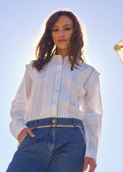 Blouse with details
