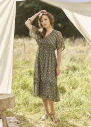 Folk Pattern Dress