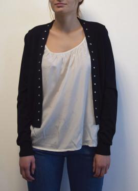 Technical knit vest