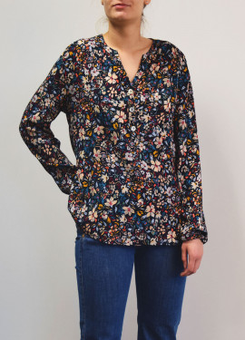 Blouse à motif Liberty