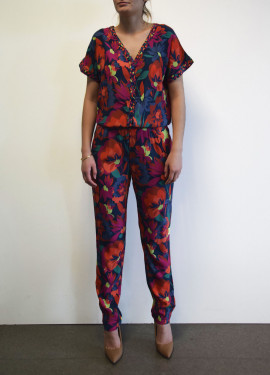 """""""Dynamic"""" Pattern Pantsuit"""