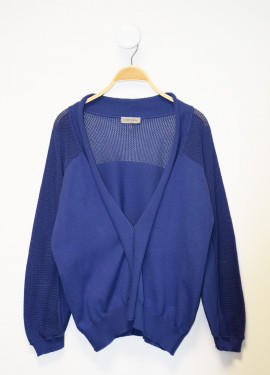 Decorative knit Detail Vest