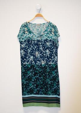 """""""Diabolo"""" pattern dress"""
