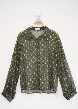 Folk Pattern Shirt