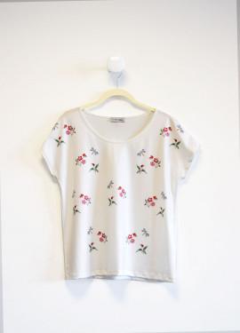 Light Floral Tee Shirt