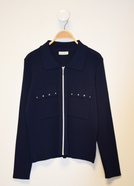 Technical mesh jacket