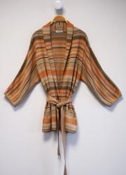 Kimono in exclusive jacquard