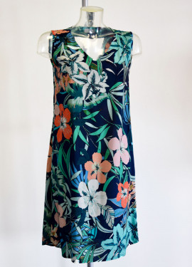 Short dress with Gauguin...