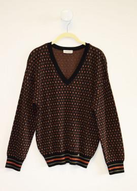 Sweatshirt in géométrique...