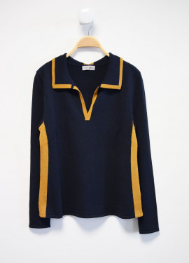 Pull effet polo